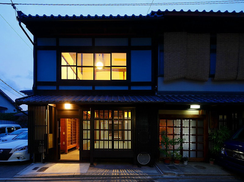 Renovated Machiya in Kamigyo, locates close to Kamishichiken district, Price 75.0 M yen, 2-story Attached Machiya for Sale in Kyoto