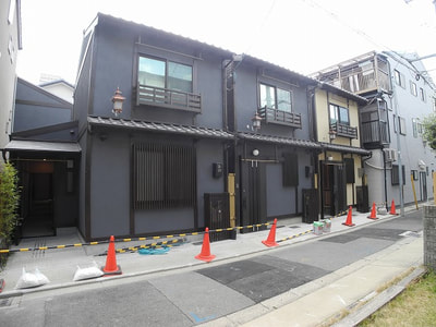 Machiya style 4 units of Guesthouse for Sale in Shimogyo, Kyoto  Price 236.9 M yen  2 story, 3 buildings, 4 Guesthouse